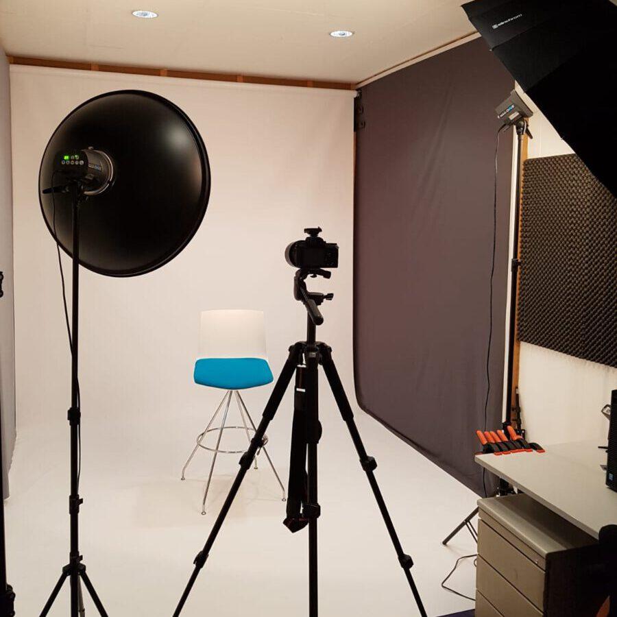 Studio voor portretfotografie of familieportretten